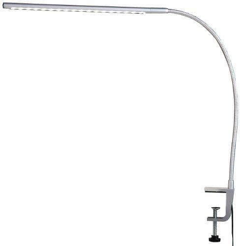 Lunartec Voll schwenkbare LED-Schreibtisch-Lampe aus Metall