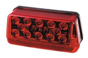 Wesbar LED Waterproof 7-Function Taillight (Right/Curbside, LED Wrap-Around)