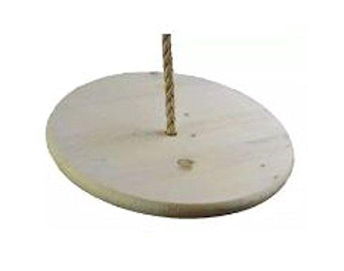 Wooden Disc Tree Swing by Carolina Custom Swings, LLC