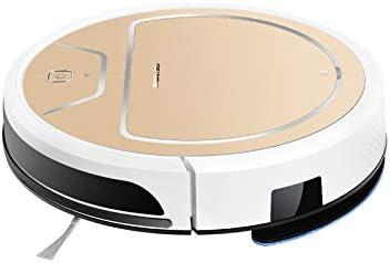 Molisu V8s Pro - Robot Aspirador Óptimo para Mascotas, Cepillos de Goma Antienredos, Dirt Detect, Suelos Duros y Alfombras, WiFi, Programable por App, Compatible con Alexa (Oro: Amazon.es: Hogar