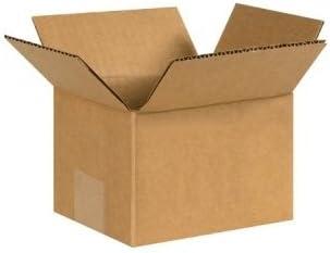6 x 5 x 4 marrón cajas de cartón (654) categoría: envío y cajas por caja: Amazon.es: Oficina y papelería