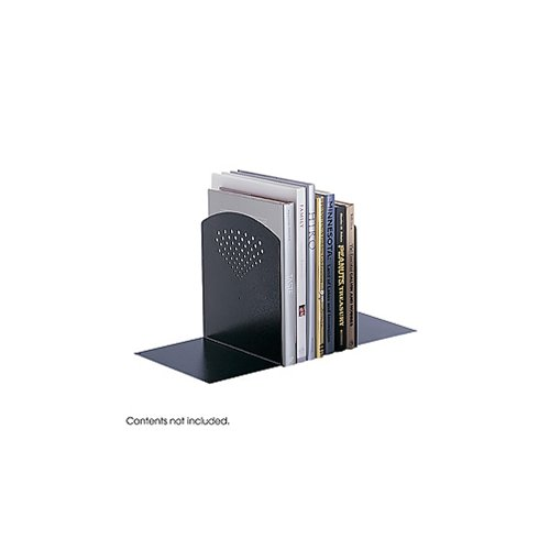 Jumbo Bookends, Black-BL Electronics, Accessories, - Bookends Safco