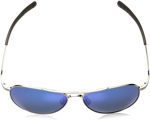 Costa del Mar Cook Polarized Iridium Aviator Sunglasses, Brushed Palladium, 59.7 mm by Costa Del Mar (Image #4)'