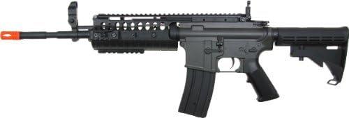 jg m4a1 s-system aeg electric airsoft gun – black Airsoft Gun