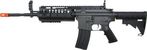 jg m4a1 s-system aeg electric airsoft gun - black(Airsoft ()