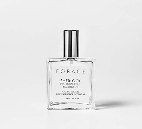 SHERLOCK Book Lover's Fine Fragrance Mist | Eau de Toilette | Cologne | Natural Perfume | Vegan + Cruelty Free by Forage Candle Co