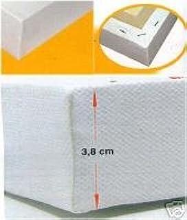 Malkarton 15 x 15cm mit Leinwnd bespannt Acryl-/Öl-Farben-Keilrahmen