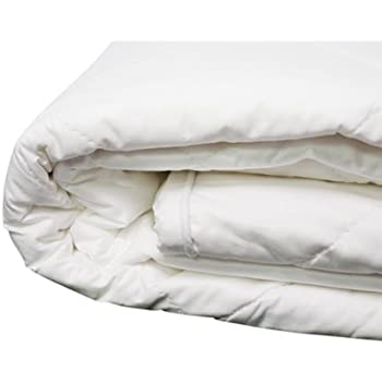 cotton filled mattress pad Amazon.com: 100% Cotton Filled Mattress Pad   Twin XL: Home & Kitchen cotton filled mattress pad