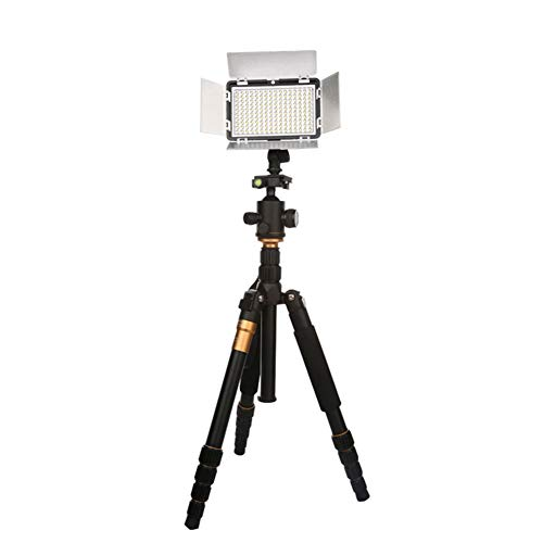 Peaceip US Camera Video Light Photo Dimmable Led Fill Light 5600k Lighting Kit - Soft Light Sheet - Rotating Hot Boots