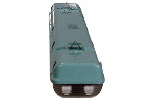 56 Watt Vapor Proof LED 4 Foot Light for Outdoor Applications - 7000 Lumens - 6' Cord - IP67 by Larson Electronics (Image #1)
