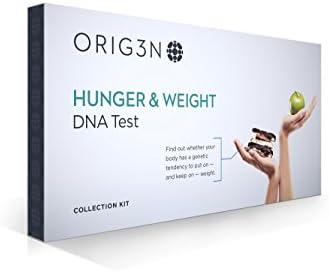 ORIG3N Genetic Home Mini DNA Test Kit, Hunger & Weight