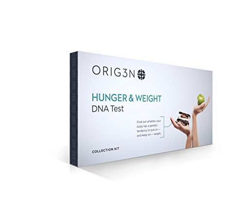 ORIG3N Genetic Home Mini DNA Test Kit, Hunger & Weight ()