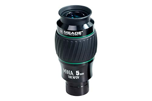 Meade Instruments 607015 Eyepiece, 100 Degree, MWA 5MM, 1.25-Inch (Black/Green)