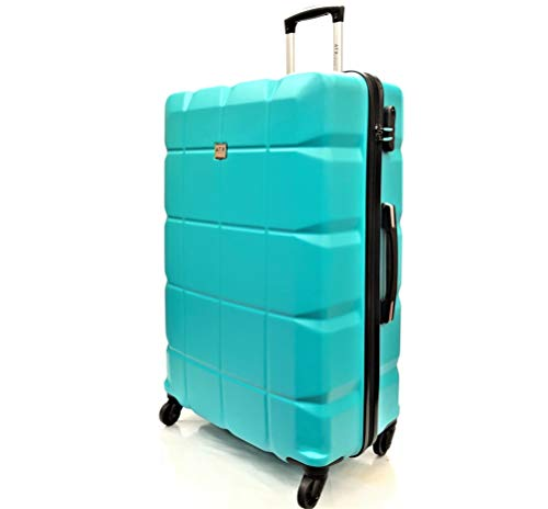 ATX Luggage Large 29 Super Lightweight Expandable Durable Hold Check in Suitcases Travel Bags Trolley Case with 2 Wheels in Red 29 Large, Red 45