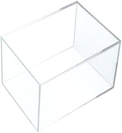 アクリサンデー アクリBOX ボックス 100mm×200mm×高さ100mm 板厚 3mm 透明 AB-6
