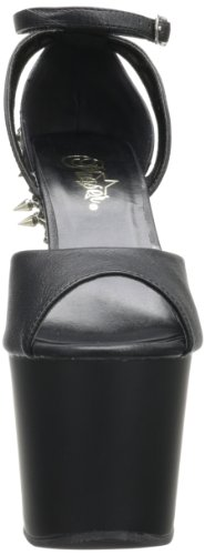 Blk 715 Faux Matte 5 Pleaser Uk blk eu 38 Leather Fearless 4SqgOg