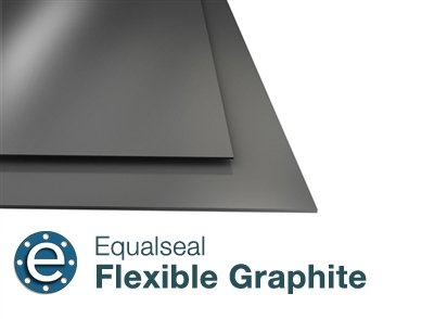 Flexible Graphite with No Insert - 1/8'' Thick - 19'' x 19'' Sheet by Equalseal