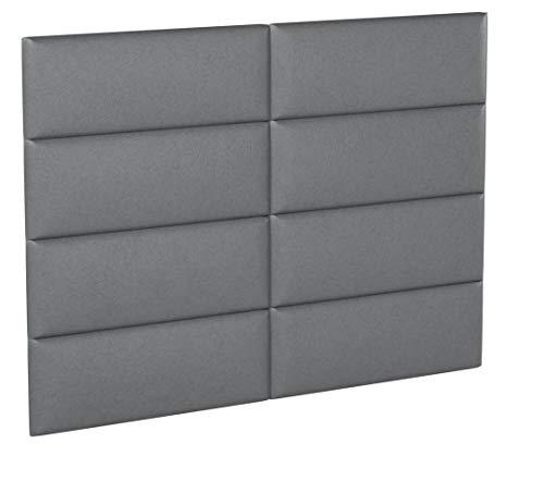 VANT Cabeceros tapizados Paneles de Pared Acentuados – Paquetes de 4 – Color Opciones – 5 Tipos de Textura – 99 cm o...