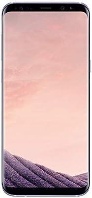 Samsung Galaxy S8 G950U 64GB Unlocked GSM U.S. Version Phone - w/ 12MP Camera - Orchid Gray (Renewed)