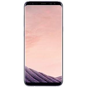 Samsung Galaxy S8 G950U 64GB Unlocked GSM U.S. Version Phone – w/ 12MP Camera – Orchid Gray (Renewed)