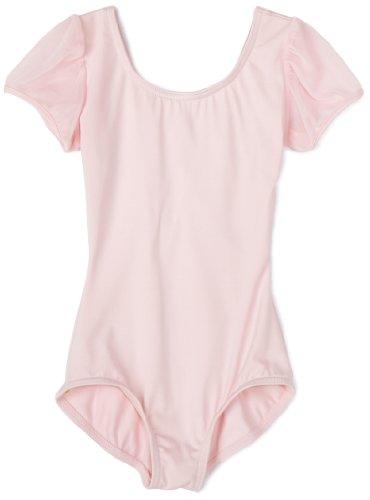 Capezio Little Girls' Puff Sleeve Leotard,Pink,T (2-4)
