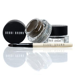 Bobbi Brown Long-Wear Gel Eyeliner Set Black Ink Sepia Ink