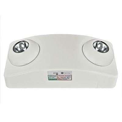 Emergency Light - Adjustable Lamp Heads - Self-Testing - Exitronix LL50H-G2