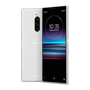 Sony Xperia 1 J9110 Dual-SIM 128GB/6GB Dual Sim – International Model – No Warranty in The USA – GSM ONLY, NO CDMA (White) – White
