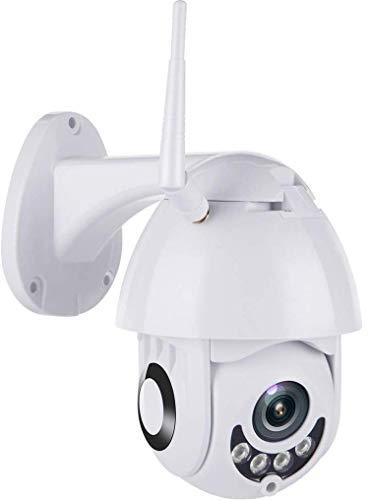 Outdoor PTZ WiFi Security Camera, 1080P Pan Tilt Waterproof Dome Camera Surveillance CCTV IP Camera, Two Way Audio Night Vision Motion Detection Camera, 4mm Lens H.264/5X
