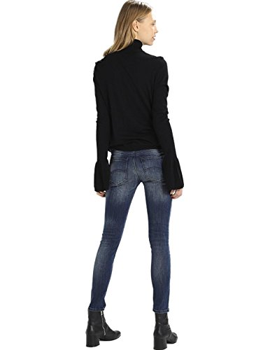 Tommy Blue Skinny 8 Donna Nora Rise Jeans Mid 7 qRPq4wa