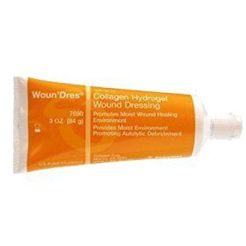 Woun'Dres Collagen Hydrogel 3 oz Tube QTY: (Dres Collagen Hydrogel)