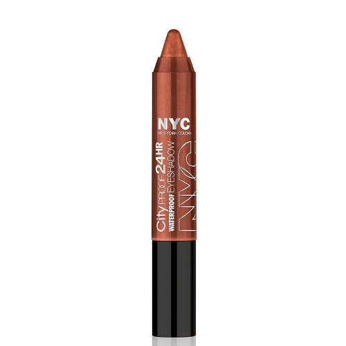 (6 Pack) NYC City Proof 24Hr Waterproof Eye Shadow - Wall Street Bronze by N.Y.C.