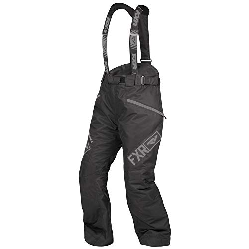 FXR Womens Fresh Pant (Black Ops, Size 12) (Womens Snowmobile Pants)