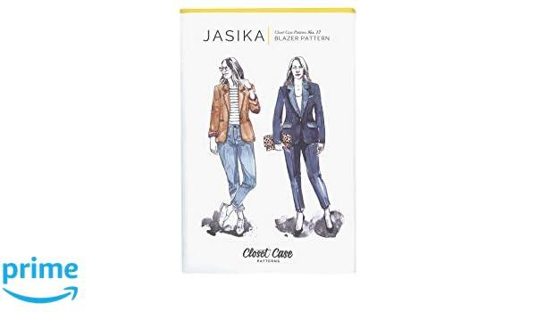 Closet Case Studio CCP17 Jasika Blazer Pattern None