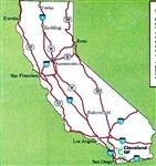 Cleveland National Forest Map