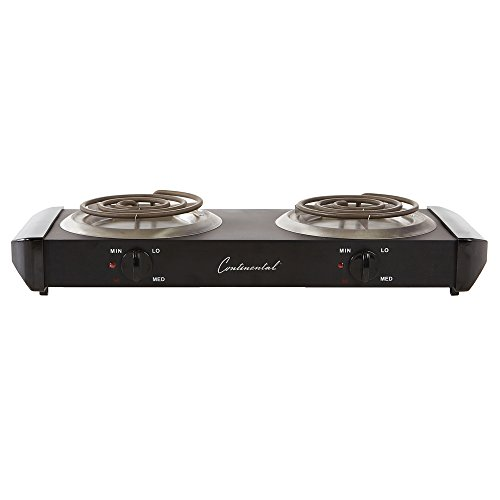 Continental Electric CE23319 Double Burner ()