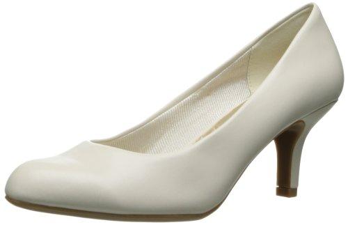 Dark Shadow Footwear - Easy Street Women's Passion Dress Pump,Bone,6.5 W US