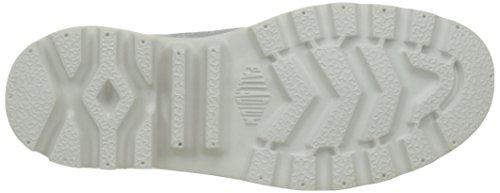 Damen Palladio Pampa Hi Lite Maglia Hohe Sneaker Grau (l81 Giglio Bianco / Bianco Giglio)