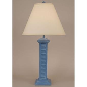 Coast lamp manufacturer 13 b12b blue china wash tall shutter table coast lamp manufacturer 13 b12b blue china wash tall shutter table lamp 305 in aloadofball Images
