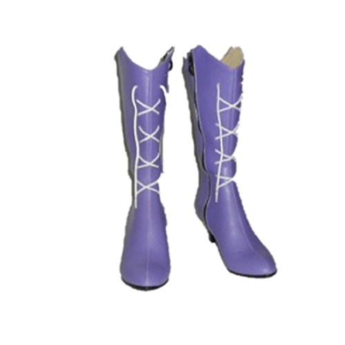 [Sailormoon Sailor Moon Saturn cosplay costume Boots Boot Shoes Shoe] (Sailor Saturn Costume)