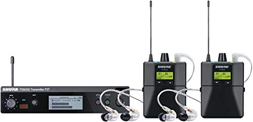 - Shure PSM300 Pro Wireless Dual In-ear Monitor System - G20 Band