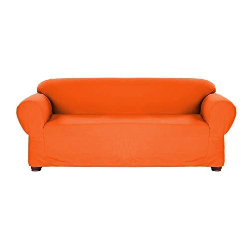 Jersey Stretch Slip Cover(Orange) - Sofa