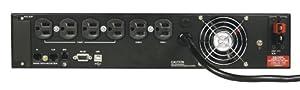 Tripp Lite 2200VA Smart Online UPS, 1600W Double-Conversion, 2U Rackmount, Extended Run & Network Card Options, USB, DB9 (SU2200RTXL2UA) from TRJP9