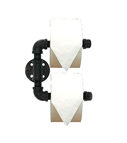 Industrial Toilet Paper Holder Double Roll Design by Piping Hot