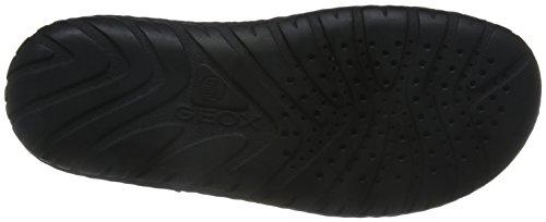 A Sandales Noir black Fermé Homme Bout U Geox Rufus qSBnfP66