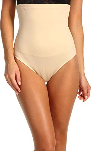 Maidenform Flexees Women's Shapewear Hi-Waist Brief Firm Control, Latte Lift, Small