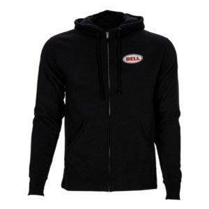 Bell Mens Choice Of Pro's Hoody Zip Sweatshirt, Black, - Clothing Triathlon Discount