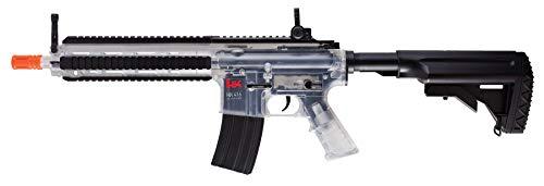 HK Heckler & Koch HK416 AEG 6mm BB Rifle Airsoft Gun, Clear