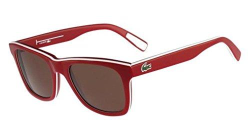 Lacoste L781S (615) Red-White-Red Sunglasses - Sunglasses Lacoste Price
