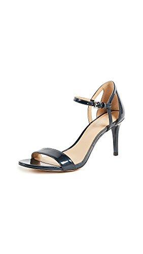 Open Michael Toe Sandals Kors (MICHAEL Michael Kors Womens Simone Mid Open Toe Formal, Admiral, Size 8.0)